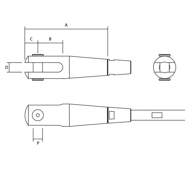 Adjustable F34 Fork Dimensions